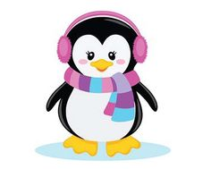 Penguin clip art. Cute use these free