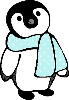 Penguin clip art baby penguin. Oodles of doodles penguins