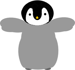 Penguin clipart mother