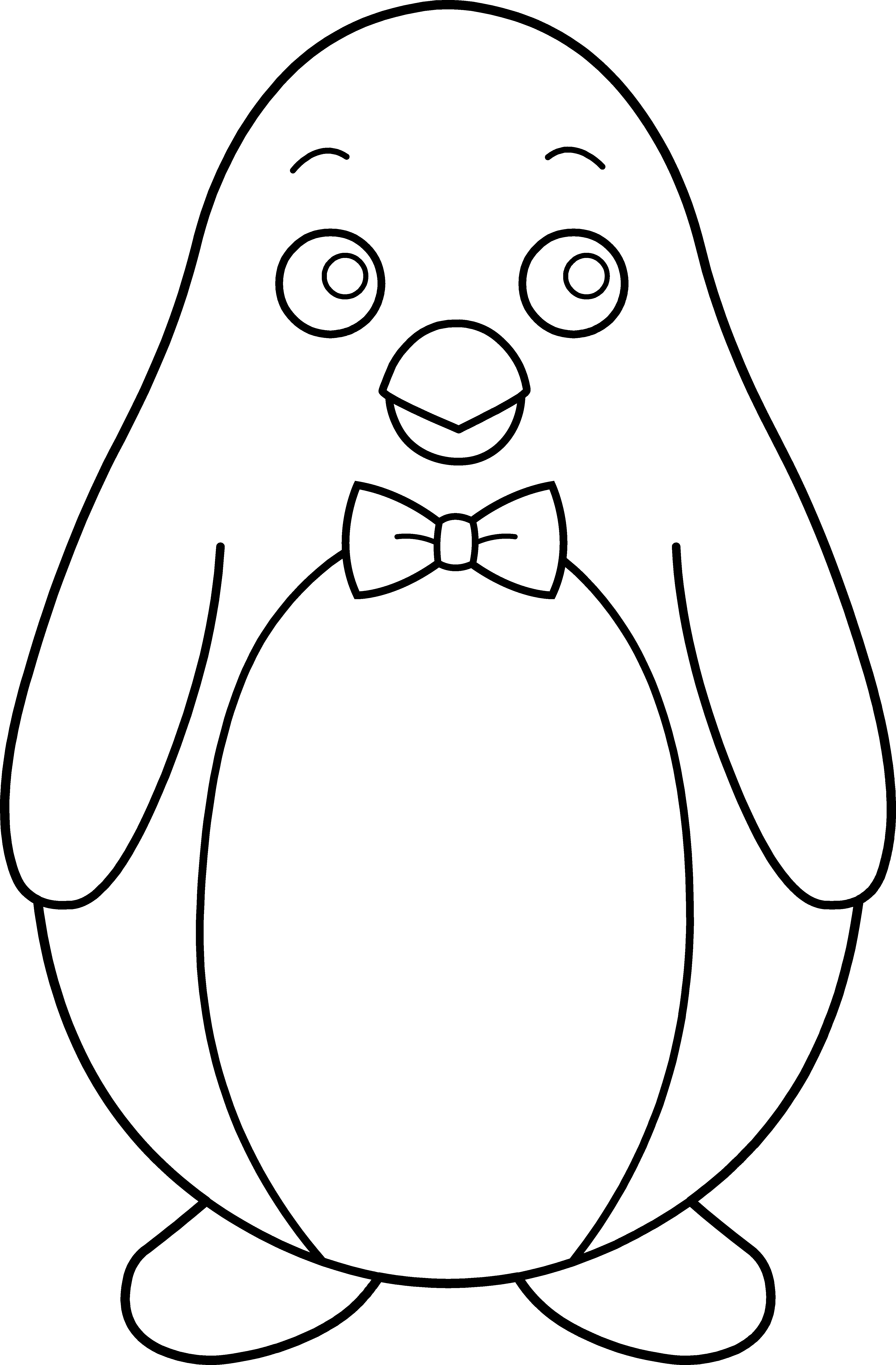 Penguin clip art black and white. Awesome clipart collection digital