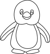 Penguin clip art black and white. Clipart panda free images