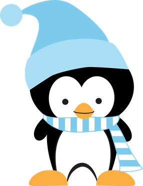 Penguin clipart winter