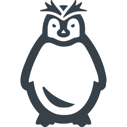 Penguin clip art royal penguin. Free icon rainbow over