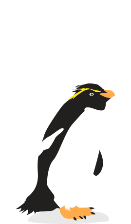 Penguins of the world. Penguin clip art royal penguin banner free stock