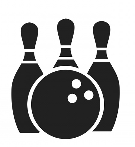 Professional clipart transparent. Bowling icon