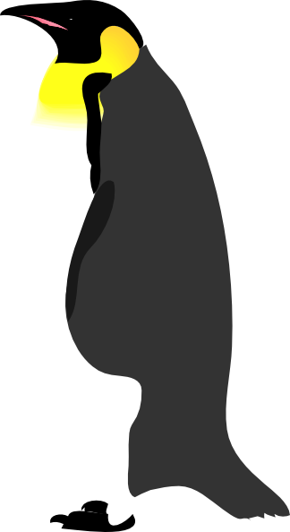 Penguin clipart realistic. Clip art library