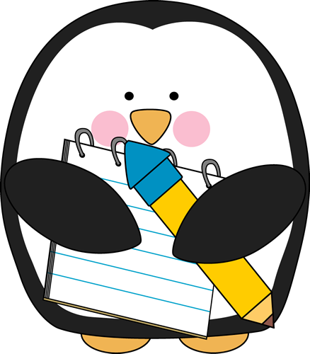 Penguin clipart spring. Schools out