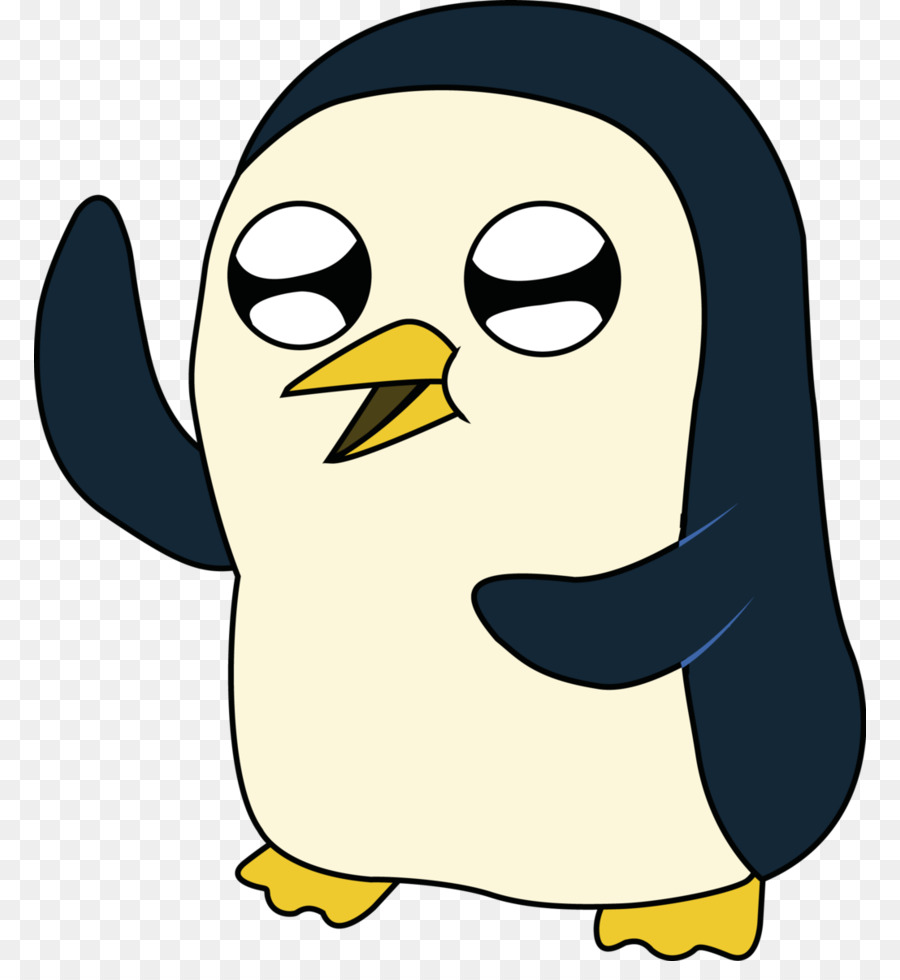 Penguin png adventure time. Ice king jake the