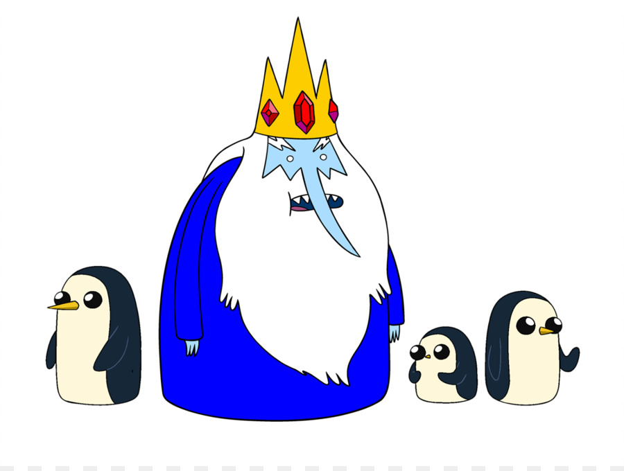 Penguin png adventure time. Ice king marceline the