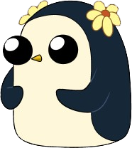 Penguin png adventure time. With flower wiki fandom