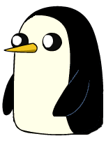 Penguin png gunter. Gunther awesome club wiki