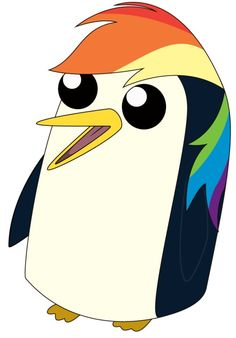 Penguin png gunter. Adventure time artist