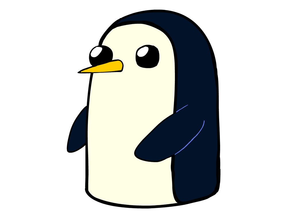 Penguin png gunter. By pandaseatingcupcakes on deviantart