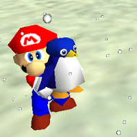 Penguin png mario 64. Tuxie super wiki the