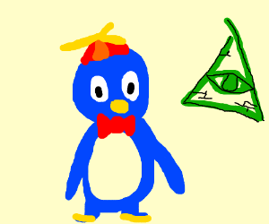 Penguin png pablo. The joins cult drawing