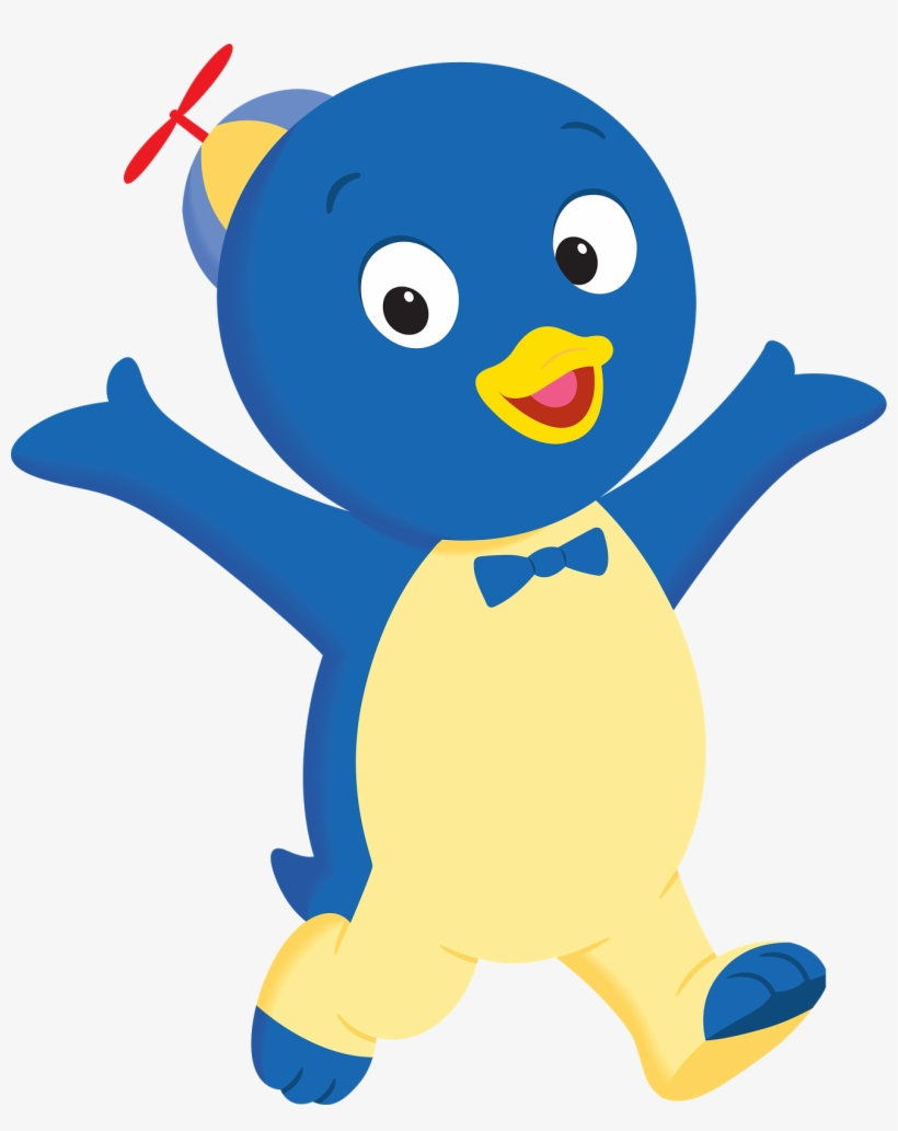 Penguin png pablo. Backyardigans transparent download