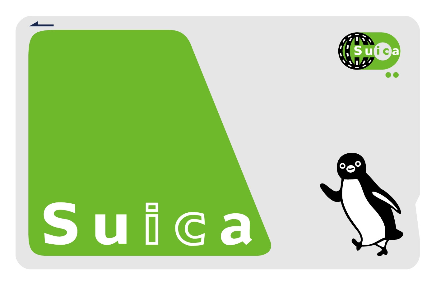 Penguin png suica. Contactless payment in japan