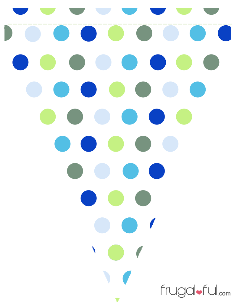 Pennant banner clipart png. Free printable blue green