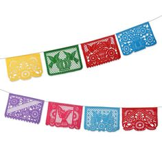 Pennant clipart flag party mexican. Fiesta digital bunting graphic
