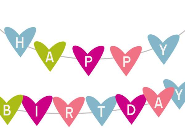 Free banner printable pictures. Pennant clipart happy birthday svg freeuse library