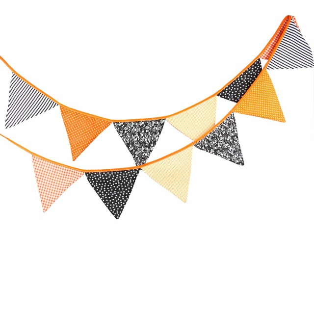Pennant clipart orange. M flags and