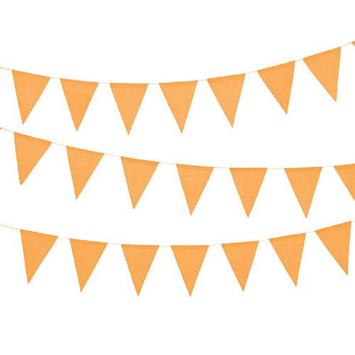 Pennant clipart orange. Paper banner the knot