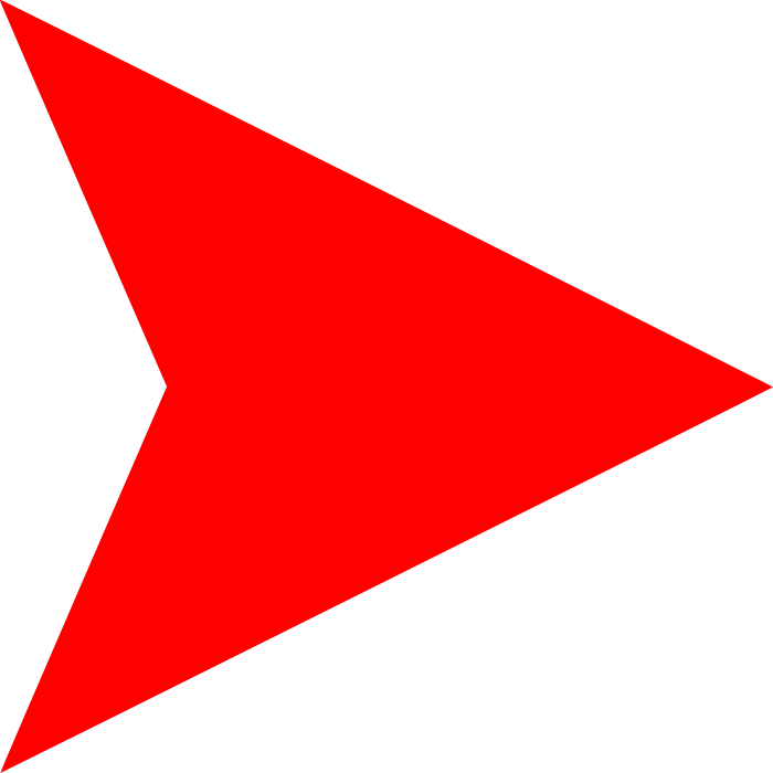 Pennant svg blank. File red arrow right