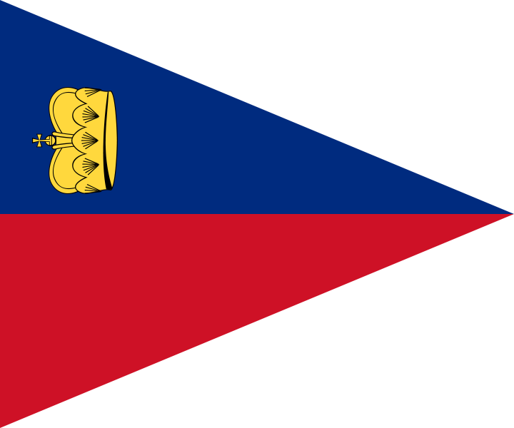 Pennant svg colourful. File flag of liechtenstein