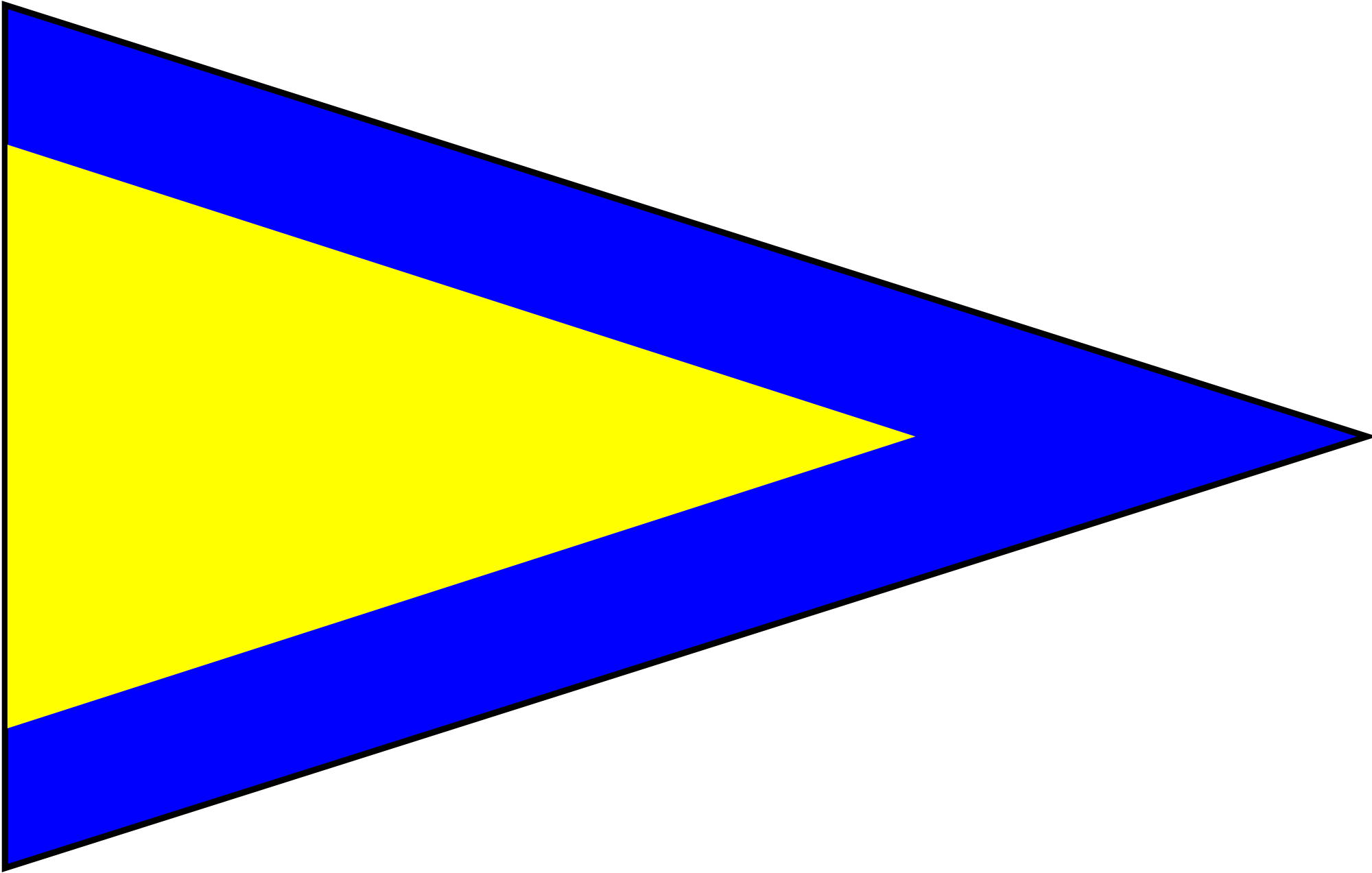 Pennant svg yellow grey. File ics repeat one