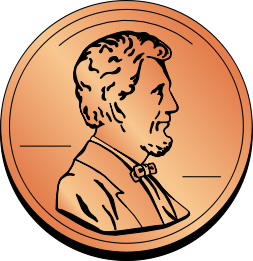 Pennies clipart. Free penny cliparts download