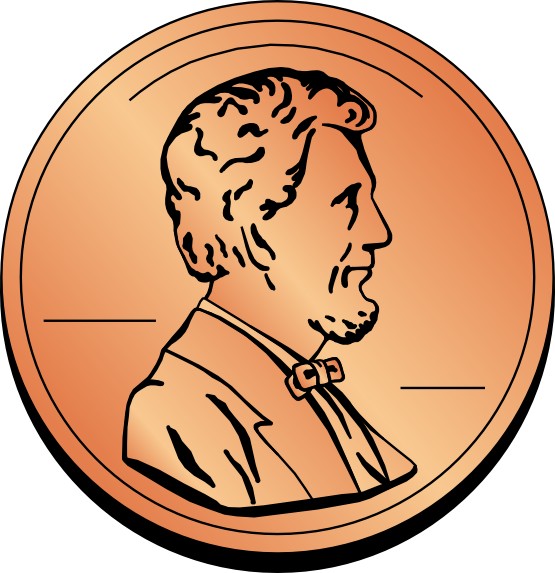 Pennies clipart head. Free penny cliparts download