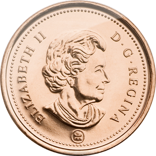 penny transparent currency