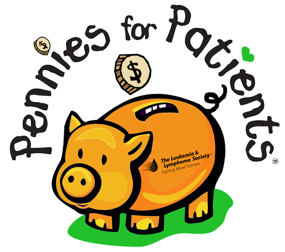 Penny clipart spare change. Pennies for patients helps