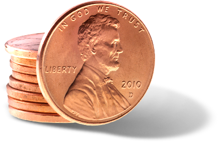 Pennies clipart stack penny. Png images