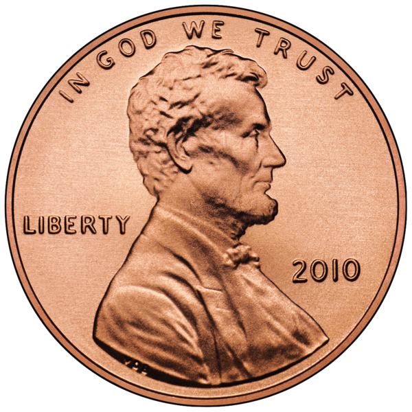 Penny transparent currency. For your thoughts e