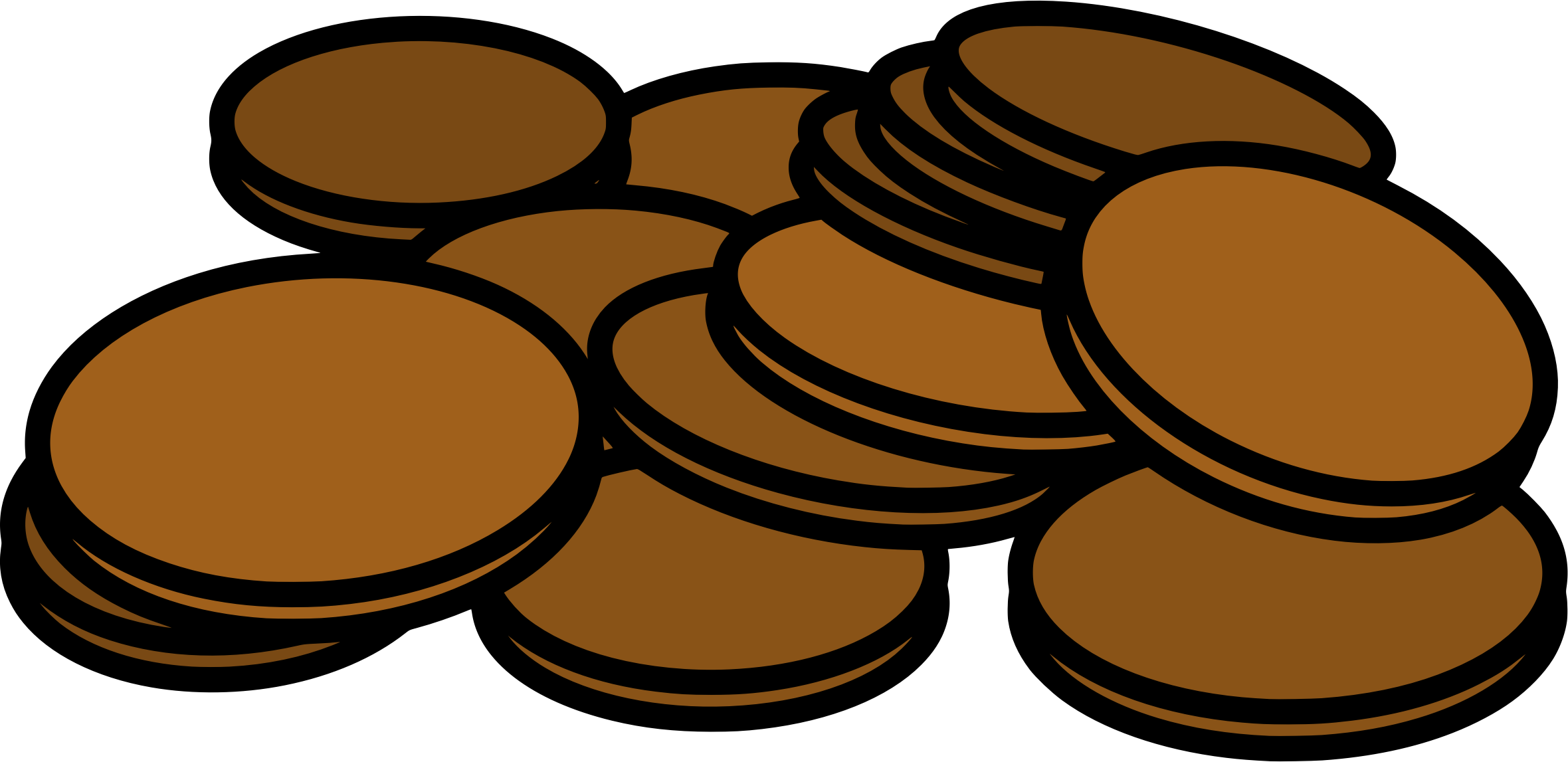 Penny penny penny png. Clipart pennies big image