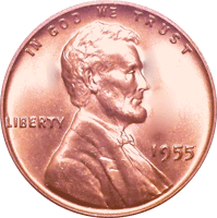 Penny transparent expensive. Wheat value cointrackers