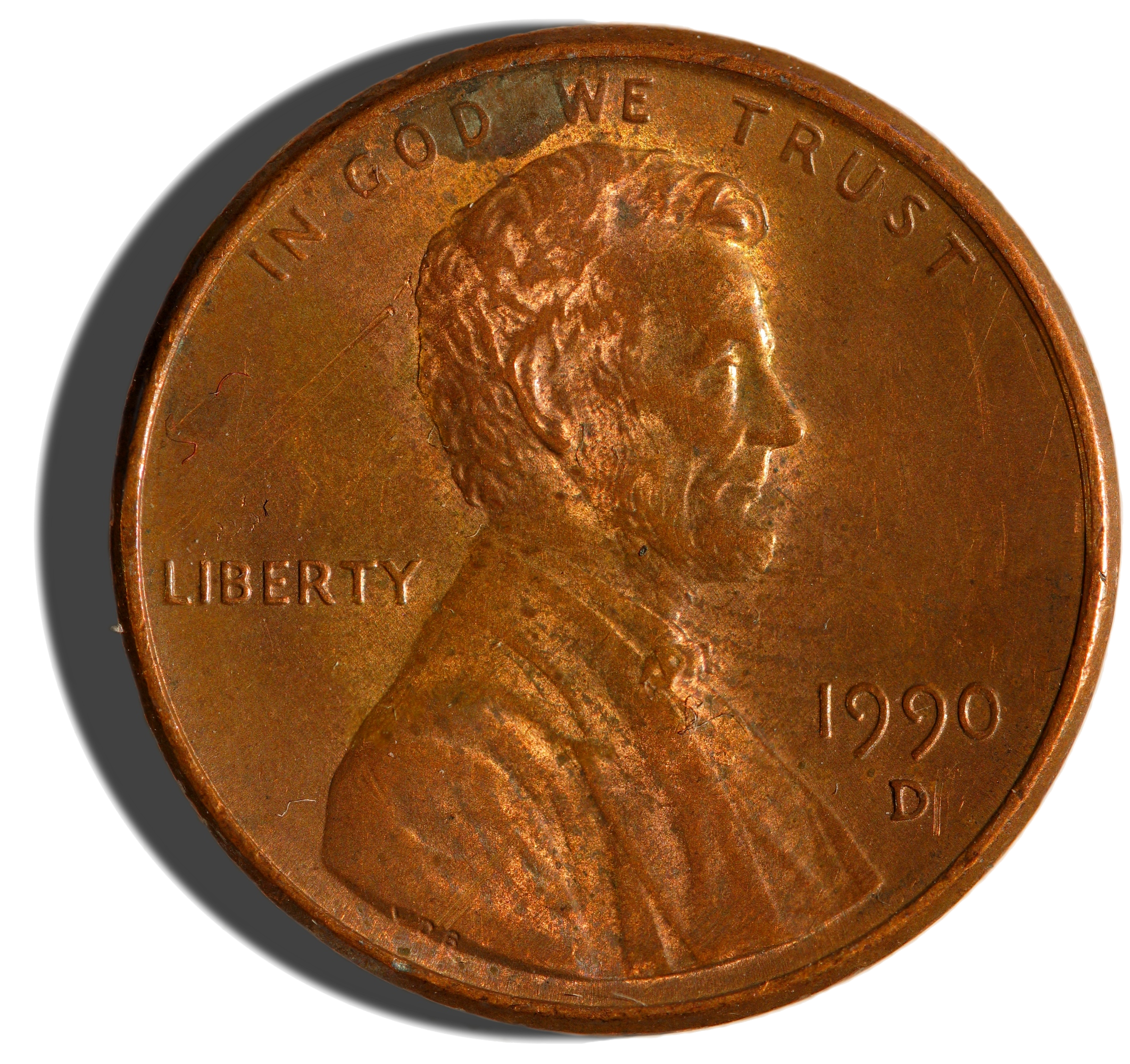 Penny transparent png. File issue us obverse