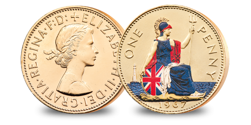 Penny transparent pre. The last ever britannia