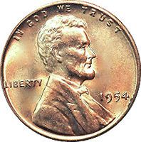 Penny transparent wheat. Value cointrackers