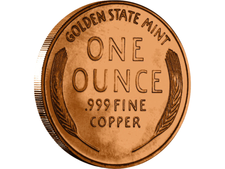 Penny transparent wheat. Copper lincoln dollar size