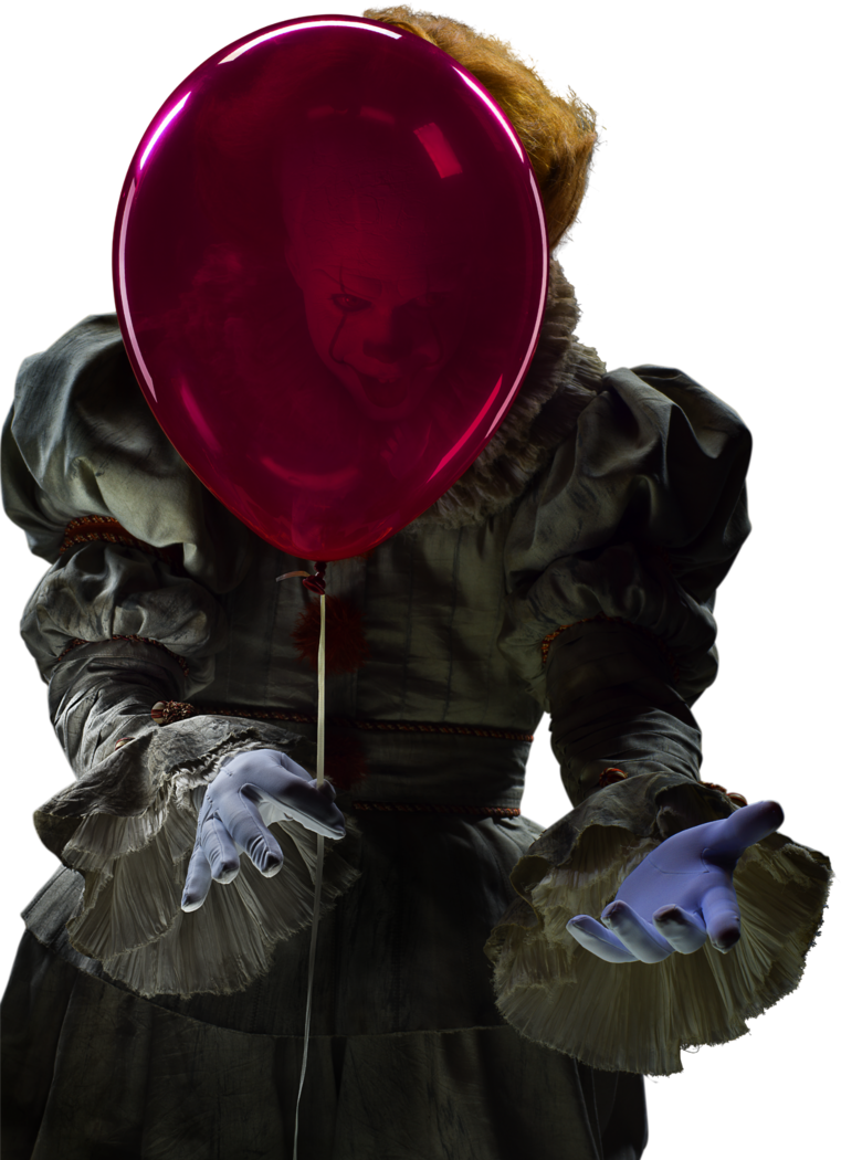 Pennywise 2017 png. It transparent by asthonx