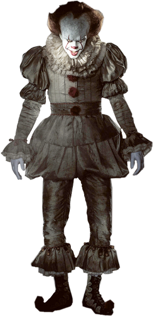 Pennywise 2017 png. You ll float too