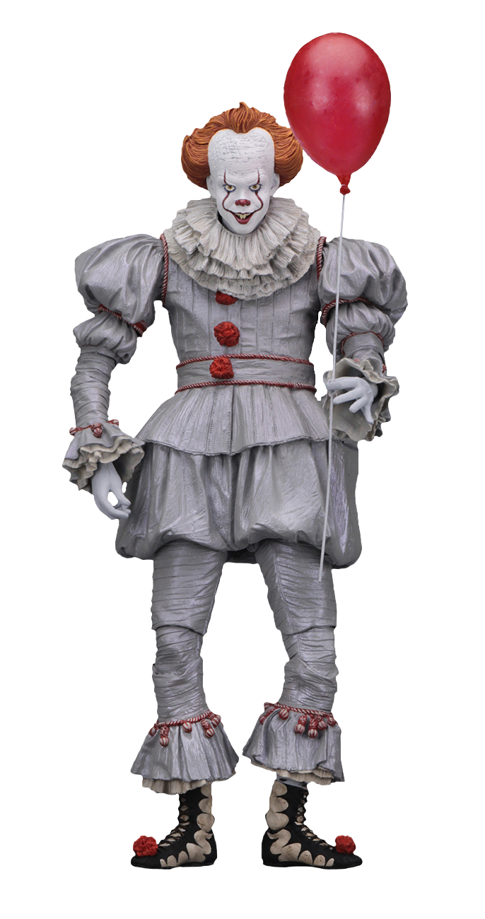 Pennywise 2017 png. It ultimate action figure