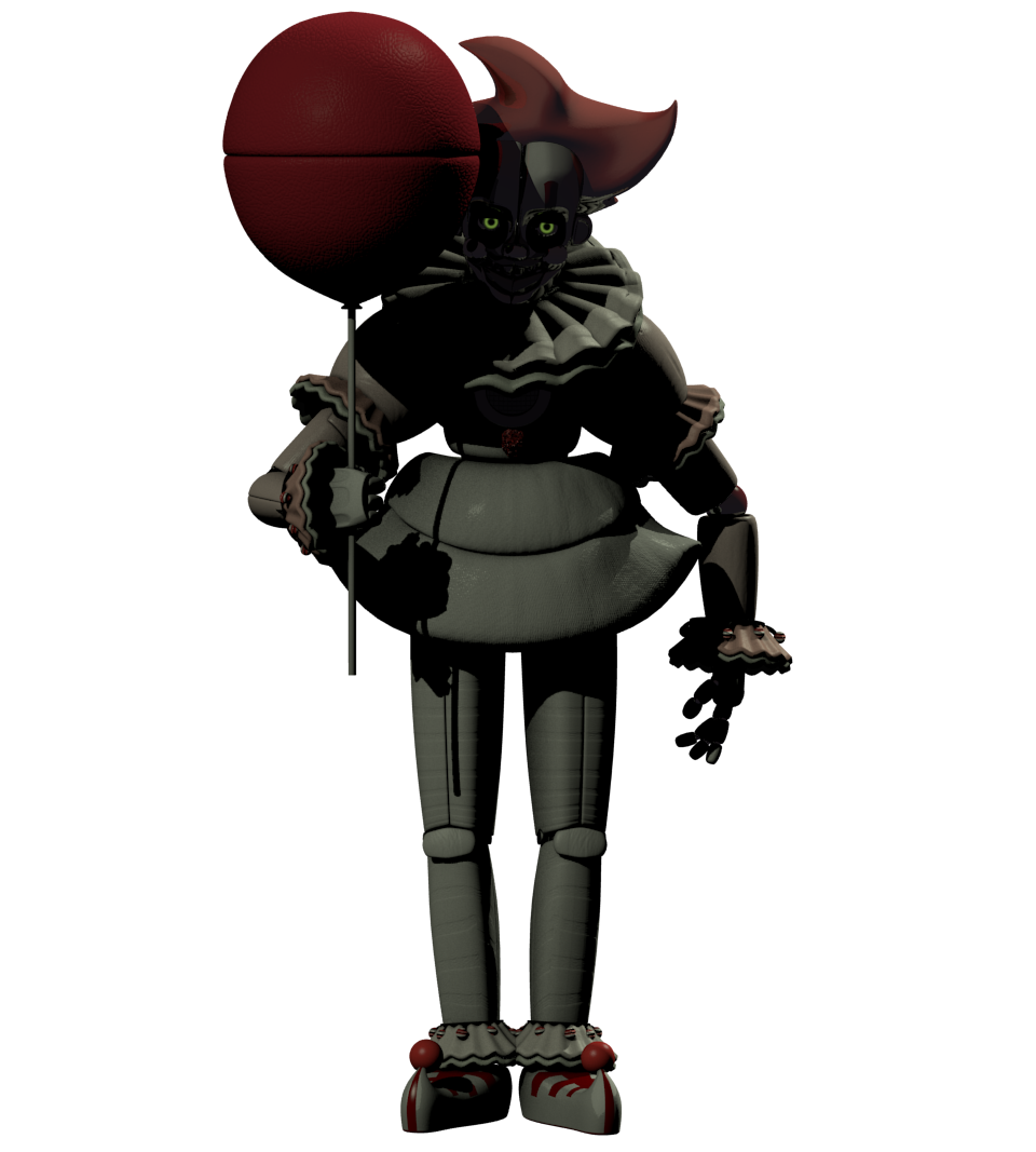 Pennywise 2017 png. Funtime it album on