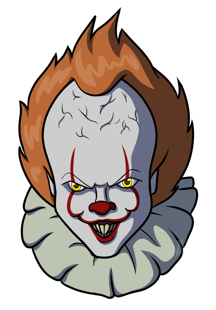 Latest drawing pennywise. By araghenxd on deviantart