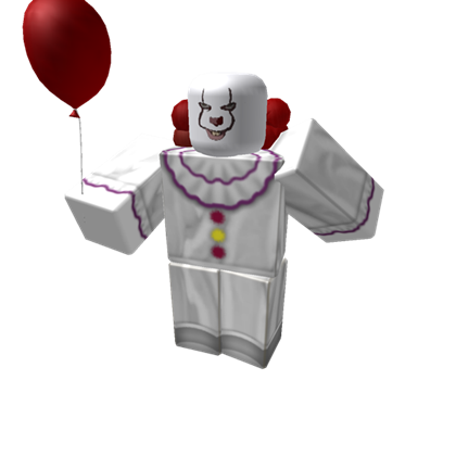 Pennywise face 2017 png. Roblox