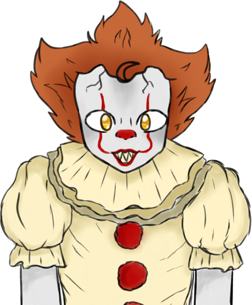 Pennywise face 2017 png. The dancing clown by