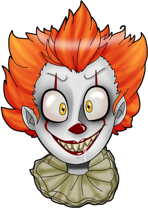 Latest drawing pennywise. Download hd it deviantart