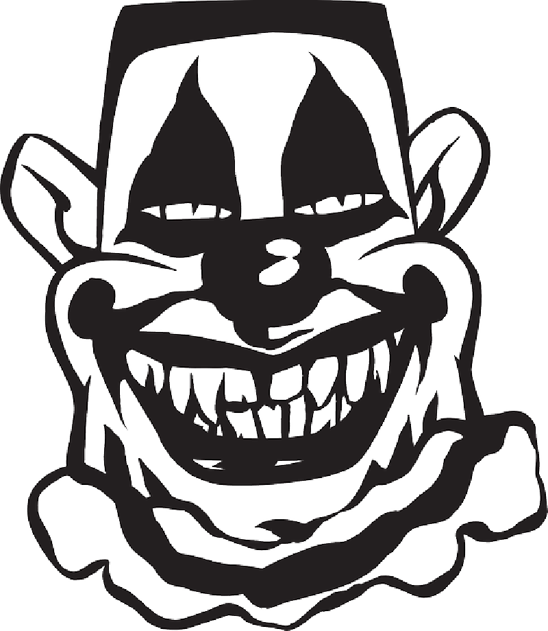 Pennywise the clown drawing png vector. Scary silhouette at getdrawings